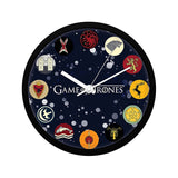 Game of Thrones All Houses Wall Clock