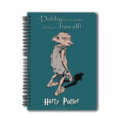 Harry Potter Dobby A5 Size Notebook