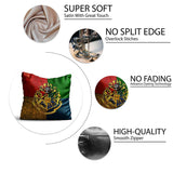 Harry Potter House Crest Satin Cushion Cover