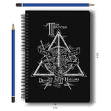 Harry Potter Combo Pack of 2 Triangle Notebook and Magnetic Bookmarks