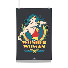 DC Comics-Wonder Women Comic 2 Wall Décor Poster | Poster for Home | Poster for Office |[ Frame Not Included ] Size A3 [12 x 18 inchs ]