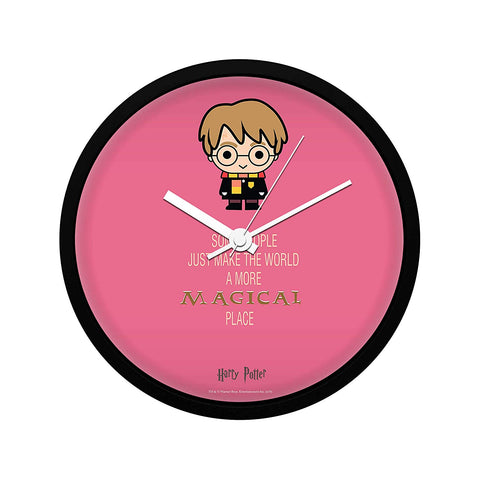 Harry Potter Some People- Magical Place Wall Clock
