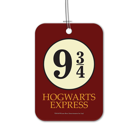 Harry Potter Hogwarts 9 3/4 Luggage Bag/Suitcase Tag