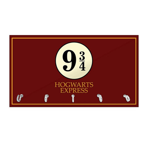 Harry Potter Station 9 3/4 Keychain Holder