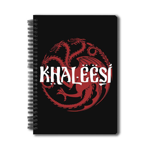 Game of Thrones Khaleesi A5 Notebook