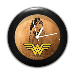 DC Comics -Grunge Wonder Women Table Clock Gift Set Birthday Gift