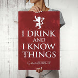 Game of Thrones I Drink Poster