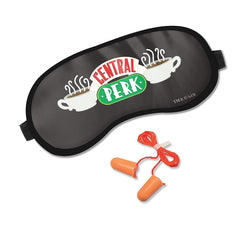 Friends TV Series Central Perk Soft Sleep Eye Mask with Ear Plugs for Women and Men