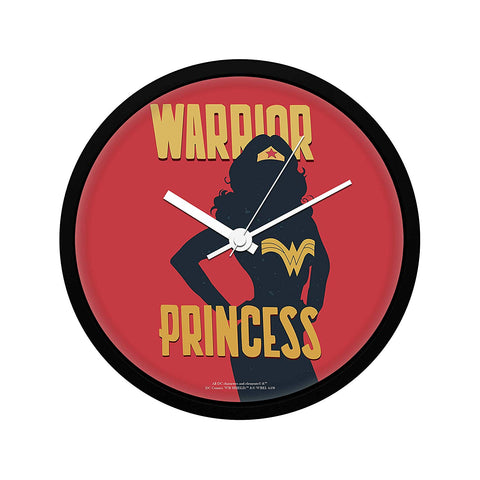 DC Comics Wonder Woman Warrior Princess Wall Clock