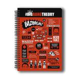 The Big Bang Theory Infographic A5 Notebook