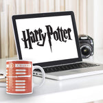 Harry Potter Spells - Heat Sensitive Magic Mug