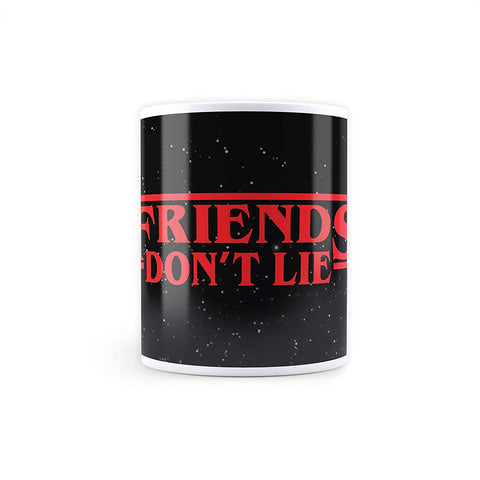Stranger Things Friends Don't Lie - Coffee Mug
