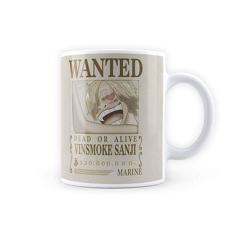 One Piece Sanji Wanted Poster - Coffee Mug