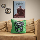 Harry Potter Slytherin Satin Cushion Cover