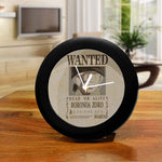 One Piece Roronoa Zoro Wanted Poster - Table Clock