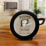 One Piece Nico Robin Wanted Poster - Table Clock