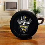 Harry Potter Hogwarts is Home Table Clock
