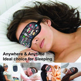 Friends TV Series Infographic Eye Mask with Ear Plugs