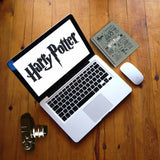 Harry Potter Grey Infographic A5 Notebok