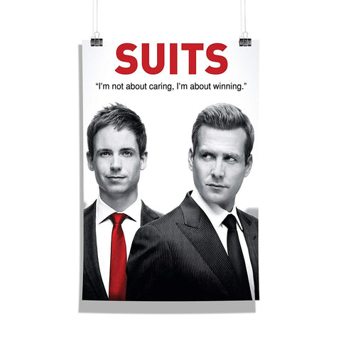 Suits TV Series Harvey Specter and Mike Ross Poster