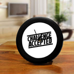 How I Met Your Mother TV Series Table Clocks of Challenge Accepted