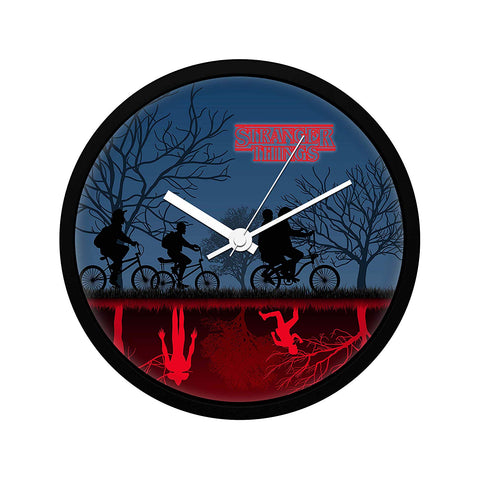 Stranger Things Material Wall Clock