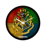 Harry Potter House Crest Wall Clock