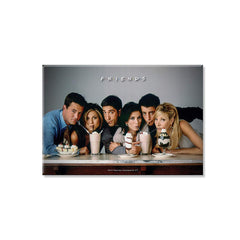 Friends TV Series Straw Rectangular Fridge Magnet