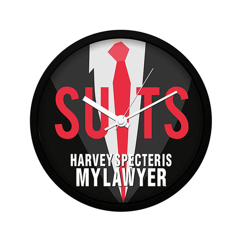 Suits TV Series Harvey Specter is My Lawyer Wall Clock
