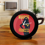 DC Comics Wonder Woman Warrior Princess Table Clock