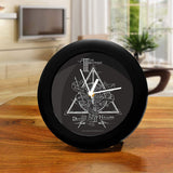 Harry Potter - Deathly Hallows Triangle Table Clock