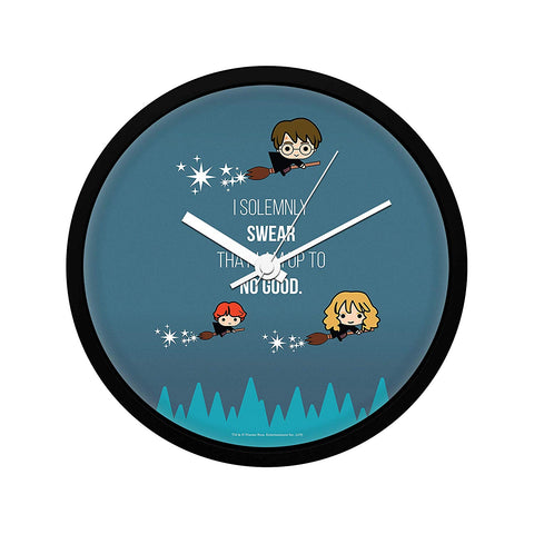 Harry Potter I Solemnly Chibi  Wall Clock