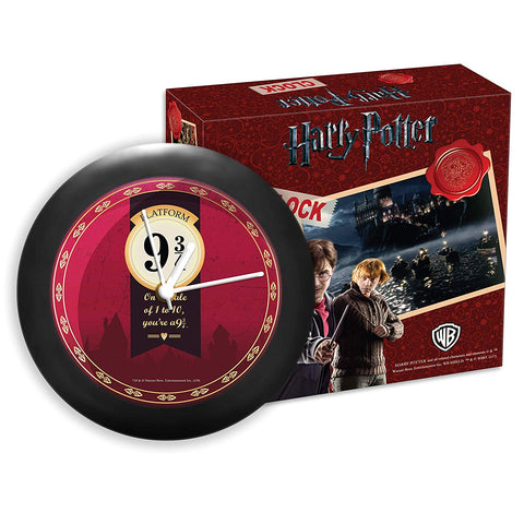 "Harry Potter - You are 9/3 by 4"" Table Clock"