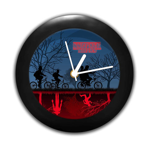 Stranger Things- Minimal design Table Clock
