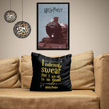 Harry Potter I Solemnly Swear Satin Cushion Cover