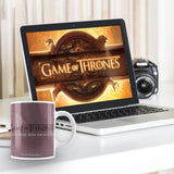 "Redwolf Game of Thrones"" Iron Thrones Ceramic Mug - 350ML"