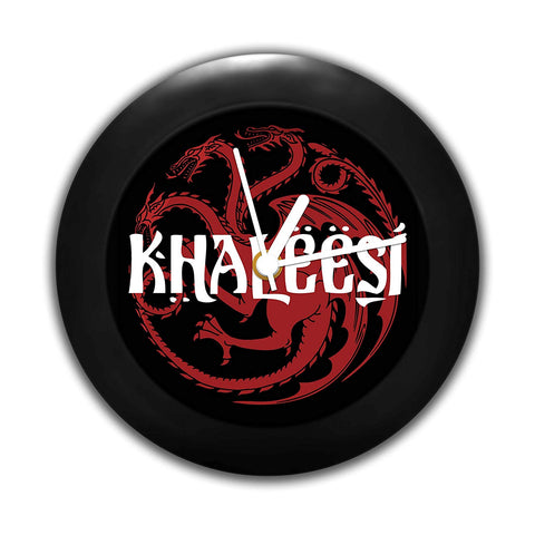 Game of Thrones Khalessi Table Clock