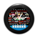 Friends TV Series Quotes Table Clock
