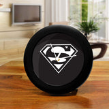 DC Comics Superman Black Table Clock