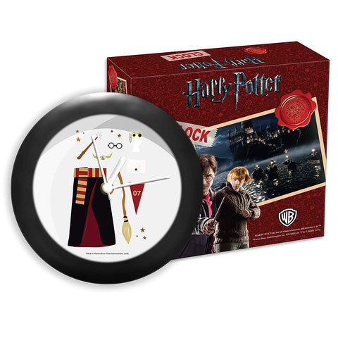 Harry Potter Favourite Elements Table Clock