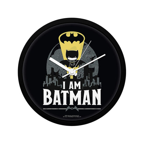 DC Comics I Am Batman Chibbi Wall Clock