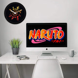 Naruto's Eight Trigrams Seal Wall Clock