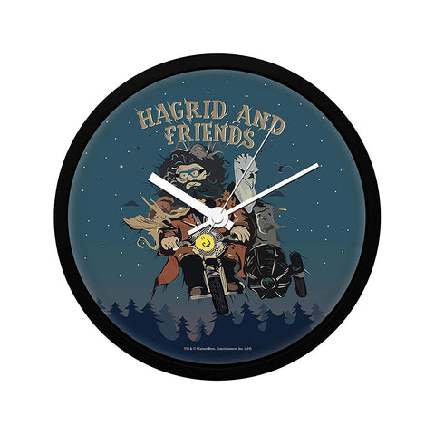 Harry Potter Hagrid and Friends Wall Clock