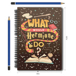 Harry Potter What Would Hermione Do A5 Notebook