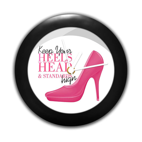 High Heals | Table Clocks