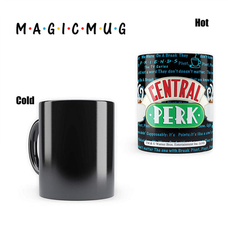 FRIENDS Central Perk - Heat Sensitive Magic Mug