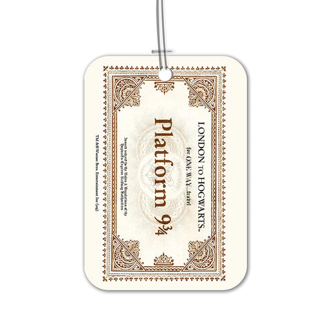 Harry Potter London to Hogwarts Luggage Bag/Suitcase Tag