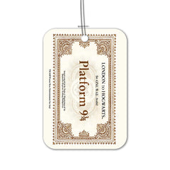 Harry Potter London to Hogwarts Luggage Bag Tag for Baggage Suitcases
