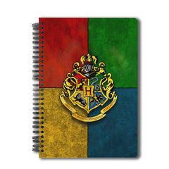 Harry Potter  House Crest 3 A5 Size Notebook