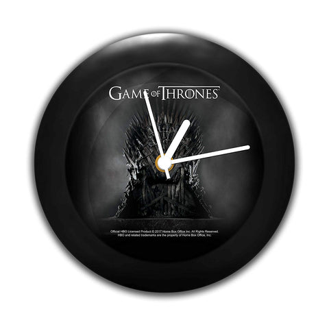 Redwolf Game Of Thrones Table Clock Of Iron Throne
